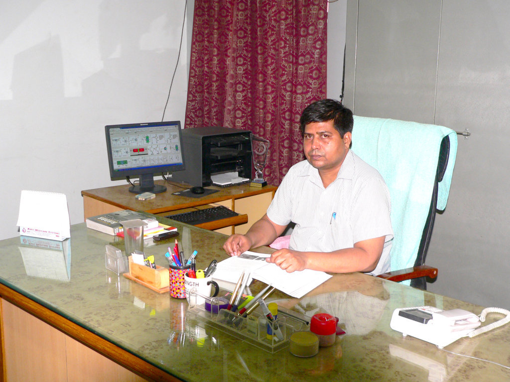Prof. P.K. Singh Head of the Department